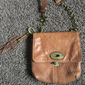 Fossil shoulder purse never used/worn